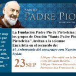 Fiesta en honor a San Pío de Pietrelcina