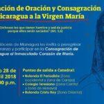 Peregrinación de Oración y Consagración de Nicaragua a la Virgen María