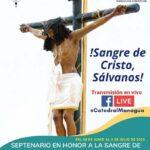 Septenario en honor a la Consagrada imagen de la Sangre de Cristo