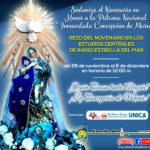 Novena en honor a la Inmaculada Concepción de María en estudios centrales de la Emisora
