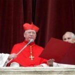 Telegrama del Papa por la muerte del Cardenal Medina Estévez